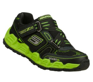 GreenBlack Skechers Reacon
