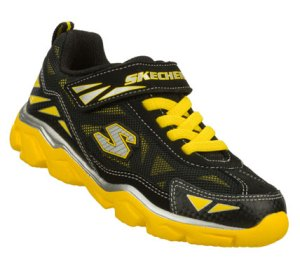 YellowBlack Skechers Serrated - Grumbler