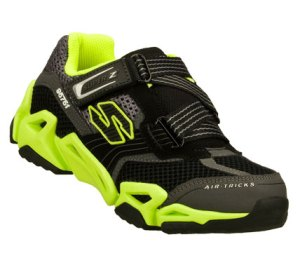 GreenBlack Skechers Air-Mazing Kid: Fierce Flex - Gravitron