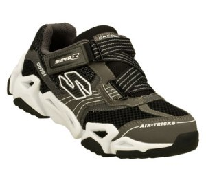 BlackGray Skechers Air-Mazing Kid: Fierce Flex - Gravitron