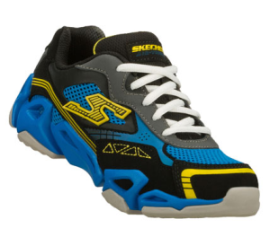 BlackBlue Skechers Air-Mazing Kid: Fierce Flex