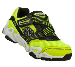 BlackYellow Skechers Air-Mazing Kid: Fierce Flex - Air Z