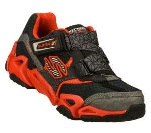 RedBlack Skechers Air-Mazing Kid: Fierce Flex - Furiouz