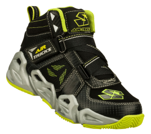GreenBlack Skechers Air-Mazing Kid Hoopz  Pointguard