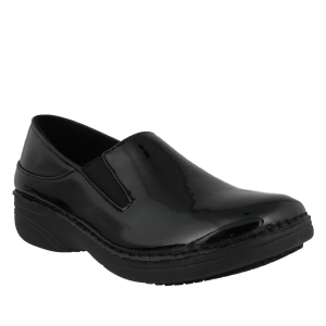 Spring Step Pro Ferrara Wide : Black Patent - Womens