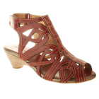 Spring Step Flourish : Red - Womens Sandal