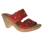 Spring Step Jujube : Red - Womens Sandal