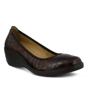 Spring Step KartII : Brown Patent - Womens
