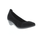 Spring Step Keziah : Black Suede - Womens