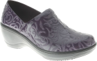 Purple Embossed Spring Step Spark