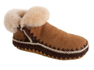 Chestnut Woolrich Winter Haven Bootie